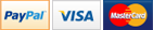 Paypal, Visa & Mastercard - Secure payments provide by PayPal